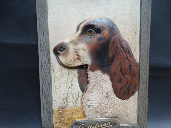 Vintage Gettelman Milwaukee Beer Advertising Panel - Irish Setter