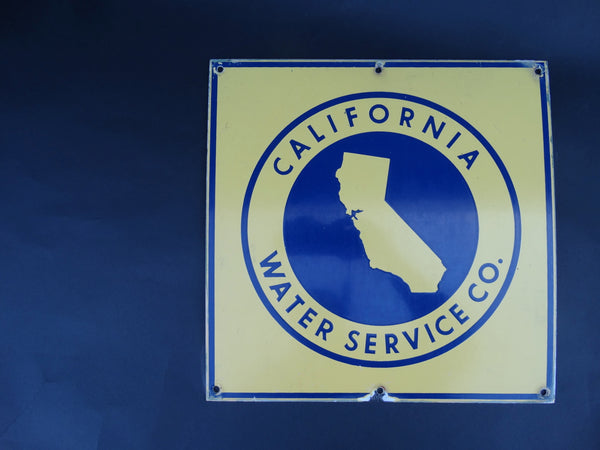 California Water Service Sign