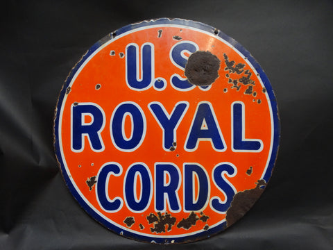 US Royal Cords Sign