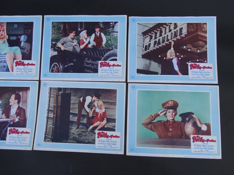The Perils of Pauline 8 Lobby Cards 1967