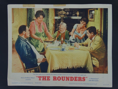 THE ROUNDERS 1965 Lobby Card
