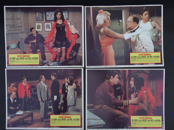 """Enter Laughing"" - set of 4 Lobby Cards #1"