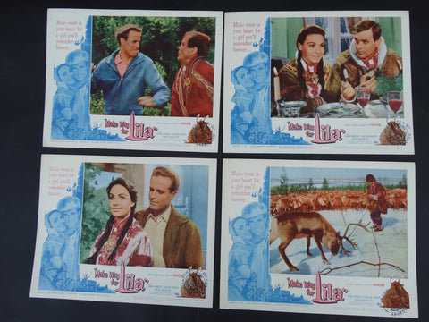 MAKE WAY FOR LILA 1958 - set of 4 Lobby Cards