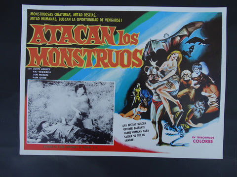 Atacan Los Monstruos (The Twilight People 1972) Lobby Card