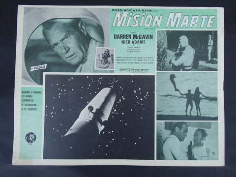 Mision Marte (Mission Mars 1968) Lobby Card