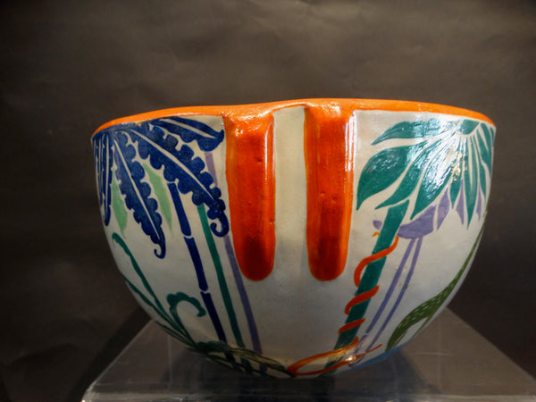 Bauer Decorated Indian Bowl 1929