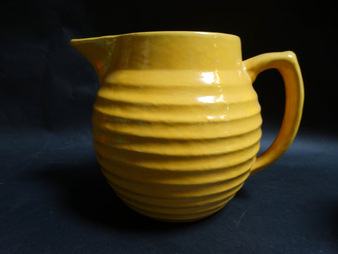 Bauer Ringware Large Yellow Pitcher 1933-37 B3016