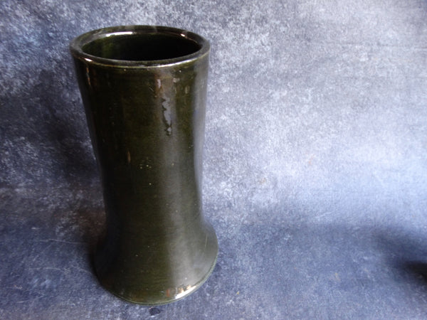 Bauer Stovepipe Vase in Ink Green B3070