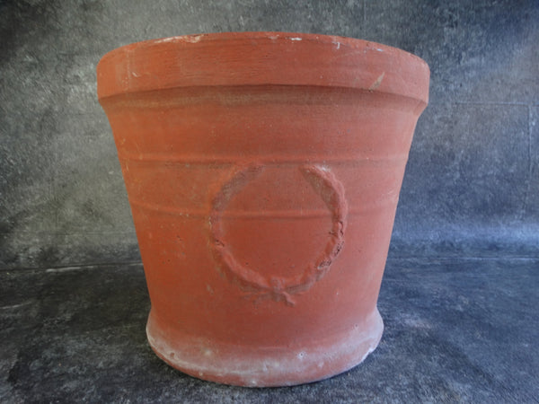 Bauer Redware Laurel Pot B3086