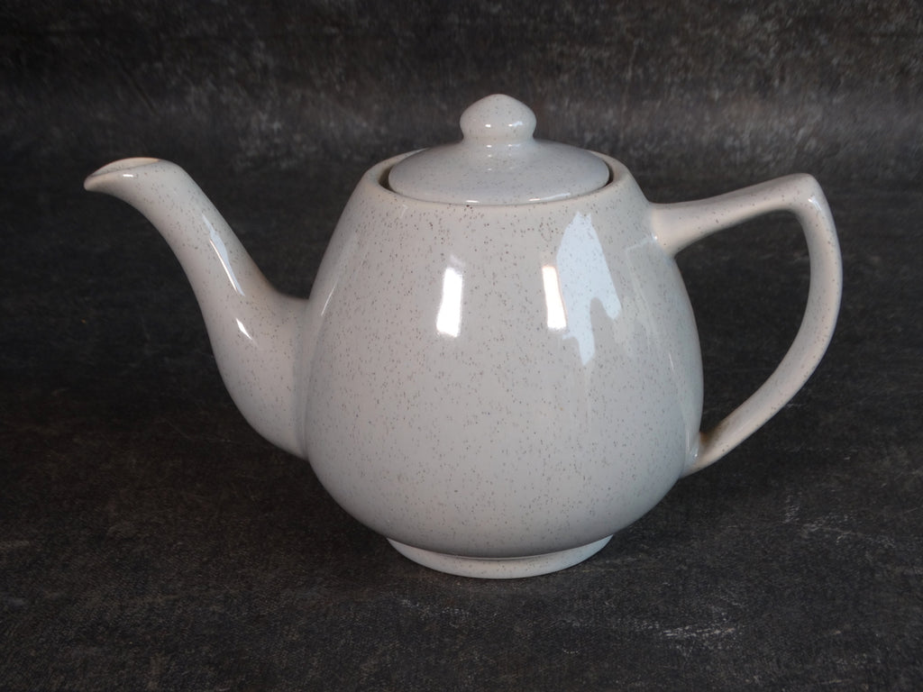 Bauer Speckle Ware Teapot in Gray B3128