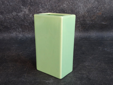 Bauer Soft Green Pillow Vase 1940s B3130