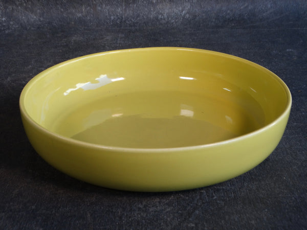 Bauer Mid-Century Low Bowl in Chartreuse B3143