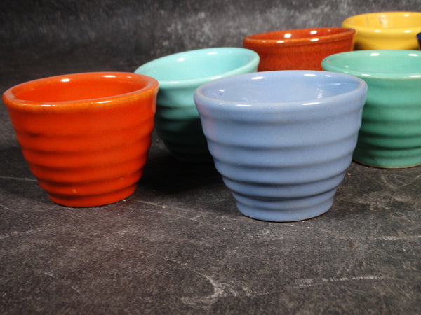 Bauer Ringware Set of 7 Custard Cups in Assorted Colors - B3153