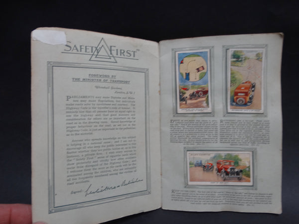 Safety First -- Book