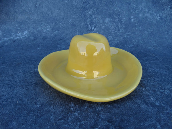 Catalina Pottery Yellow Cowboy Hat