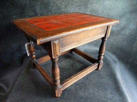 Catalina Island Toyon Red Occasional Tile Table