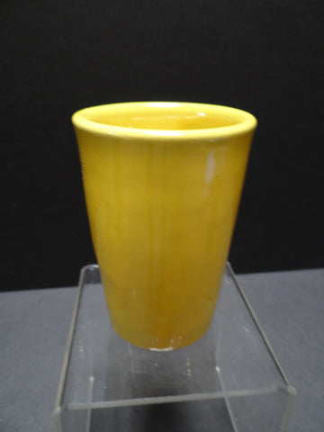 Catalina Island Pottery Yellow Tumbler