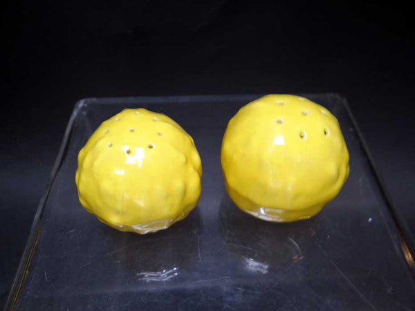 Catalina Island Gourd Salt & Pepper set Mandarin Yellow