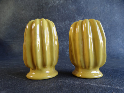 Catalina Island Pair of Yellow Salt & Pepper Shakers circa 1931 C345