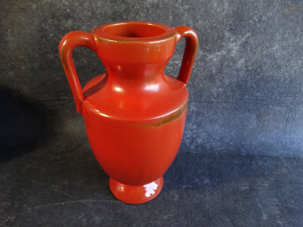 Catalina Island Toyon Red Double-Handled Urn C349