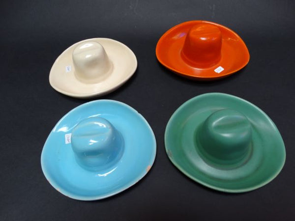 Set of 4 Catalina Island Cowboy Hats