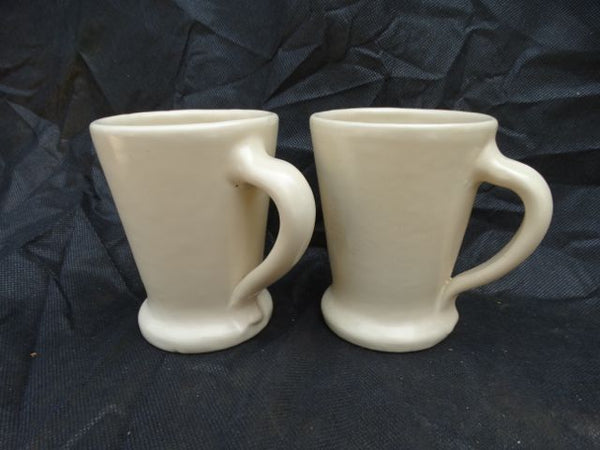 Catalina, pair of Ivory Mugs