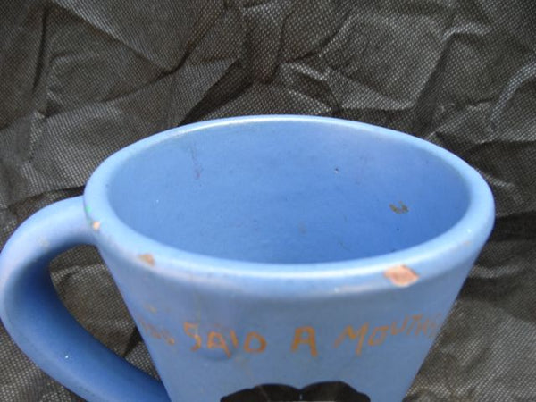 "RARE Catalina Joe E. Brown ""You Said a Mouthful"" Mug"