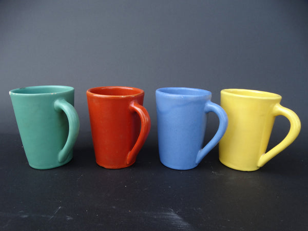 Four Catalina Island Coffee Mugs