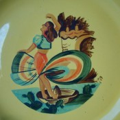 Post navigation ← Previous Next → Metlox 11″ Yellow Hand Painted Plate