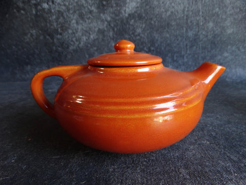 Pacific Hostess Ware Single Serve Teapot in Apache Red CA2086