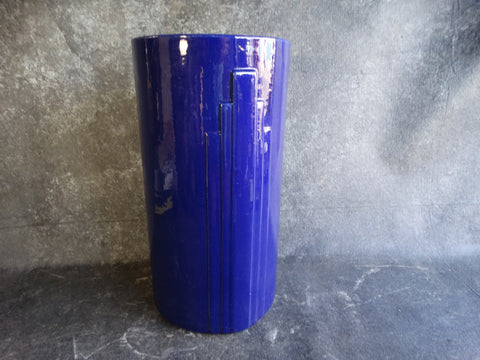 Garden City Deco Sand Jar in Cobalt Blue circa 1930s CA2108