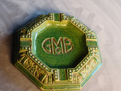 Gladding McBean Promotional Tile Ashtray circa 1929 CA2110