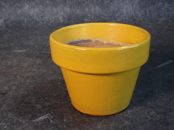 Garden City Miniature Garden Pot in Yellow c 1930s-40s CA2148