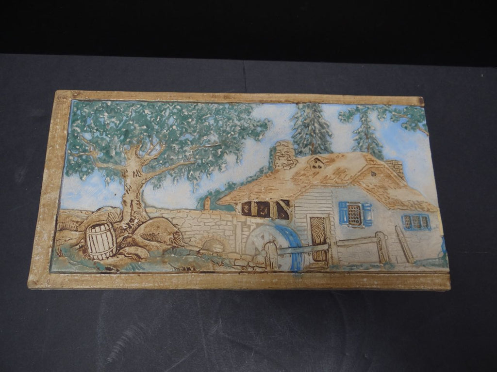 Claycraft Water Mill Scenic Fireplace Tile