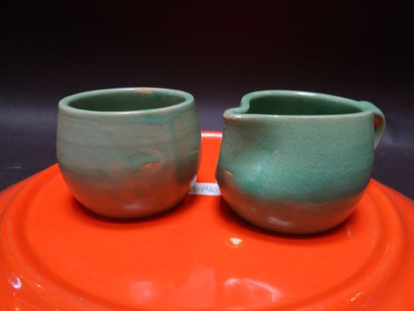 San Jose Pottery Hand Formed Cream & Sugar