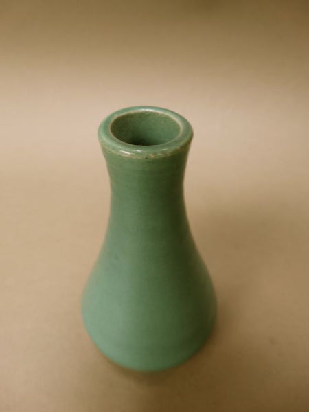 Garden City Hand Thrown Bud Vase Jade Green