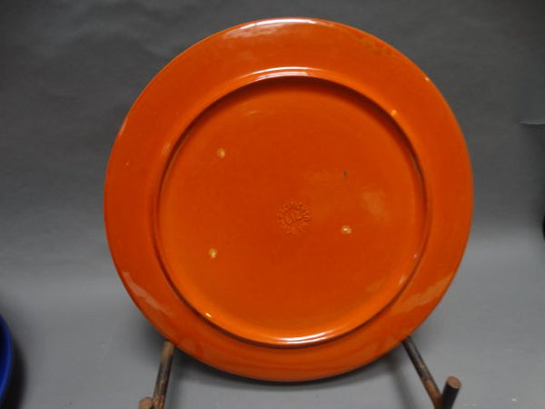 Pacific Apache Red Cake Plate