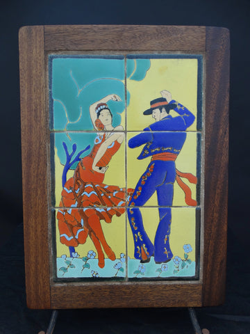 Taylor Tile Spanish Dancers