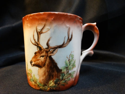 19th Century Stag Coffee Cup
