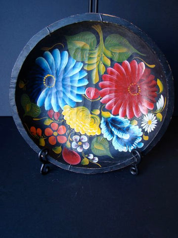 Mexican Hand Painted Batea (Tray)