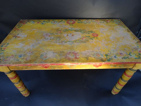 Mexican Painted Dining Table 1930s