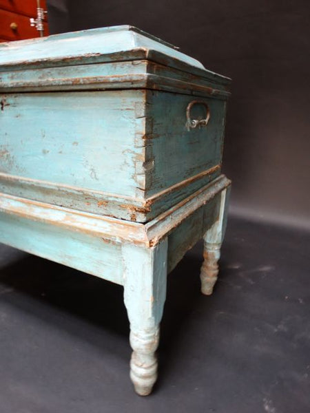 Mexican Colonial Trunk on Stand