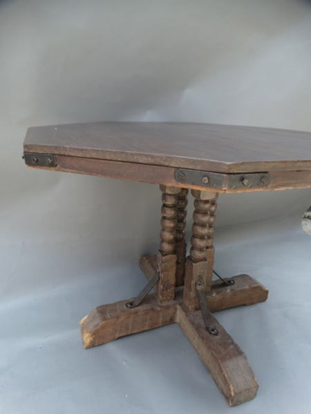 Monterey Old Wood Game Table