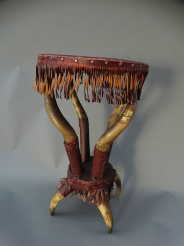 Victorian Horn Side Table