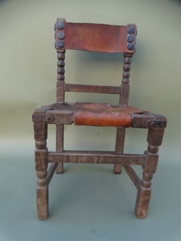 Monterey Classic Old Wood Dining Chair #1