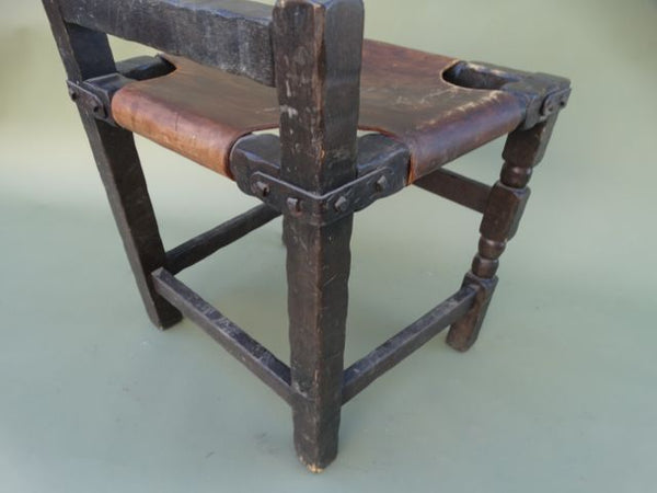 Monterey Classic Old Wood Dining Chair #2
