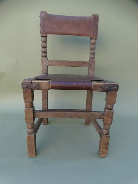 Monterey Classic Old Wood Dining Chair #3