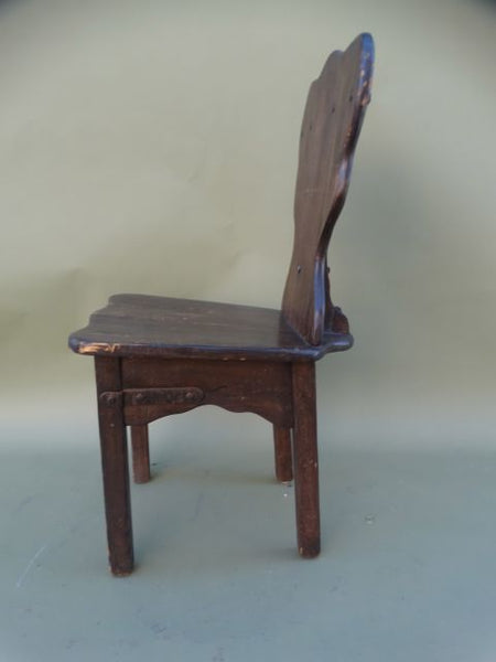 Monterey Classic Old Wood Handleback Side Chair