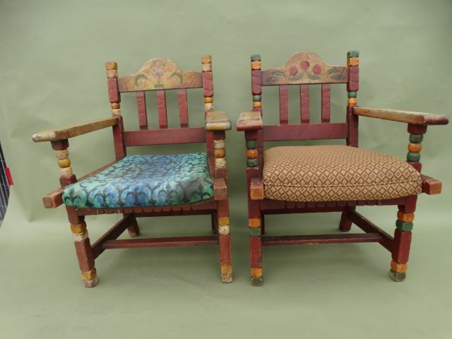 Pair of Monterey Classic Armchairs with Original Finish