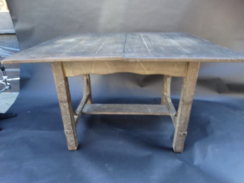 Monterey Classic Old Wood Dinette Table with two leaves